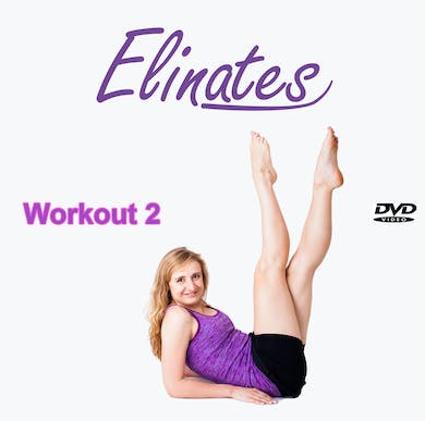 2 Low - Impact Total Body Aerobics & Upper Body Strengthening Exercisers (Gentler, more relaxed workout) by Elinates