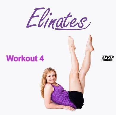 4 Low - Impact Aerobics (focus on upper body) & exercisers to strengthen Abs & Legs by Elinates