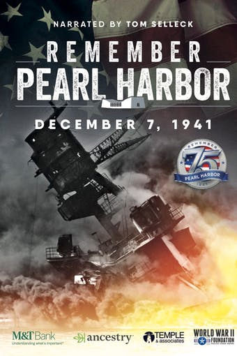 Instant Access to Remember Pearl Harbor by World War II Foundation, powered by Intelivideo