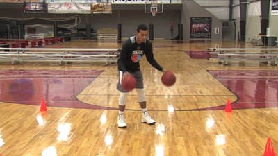Crossover Dribble & Shooting Finish by Smart Basketball Training