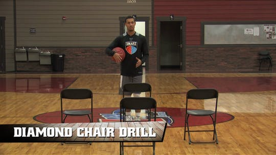 Diamond Chair Drill by Smart Basketball Training