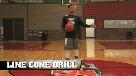 Line Cone Drill by Smart Basketball Training, powered by Intelivideo