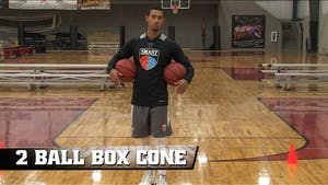 Instant Access to 2 Ball Box Cone Drill by Smart Basketball Training, powered by Intelivideo