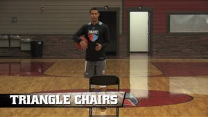 Instant Access to Triangle Chairs by Smart Basketball Training, powered by Intelivideo