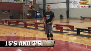 Instant Access to 15's and 3's by Smart Basketball Training, powered by Intelivideo
