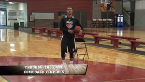 Through the Lane Comeback Finishes by Smart Basketball Training