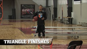 Instant Access to Triangle Finishes by Smart Basketball Training, powered by Intelivideo