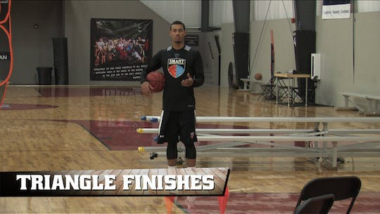 Triangle Finishes by Smart Basketball Training