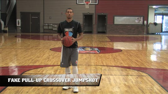 Fake Pull-Up Crossover Jumpshot by Smart Basketball Training