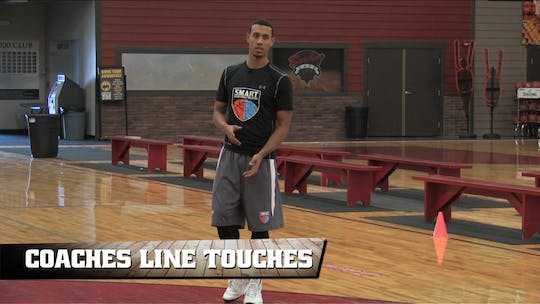 Coaches Line Touches by Smart Basketball Training, powered by Intelivideo