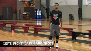 Instant Access to Left, Right, Catch and Shoot by Smart Basketball Training, powered by Intelivideo