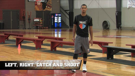 Left, Right, Catch and Shoot by Smart Basketball Training, powered by Intelivideo
