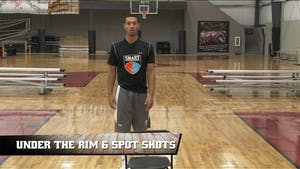 Instant Access to Under the Rim 6 Spot Shots by Smart Basketball Training, powered by Intelivideo