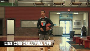 Instant Access to Line Cone Drill Pull Ups by Smart Basketball Training, powered by Intelivideo