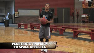 Instant Access to Penetrate and Kick to Space Opposite by Smart Basketball Training, powered by Intelivideo
