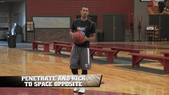 Penetrate and Kick to Space Opposite by Smart Basketball Training