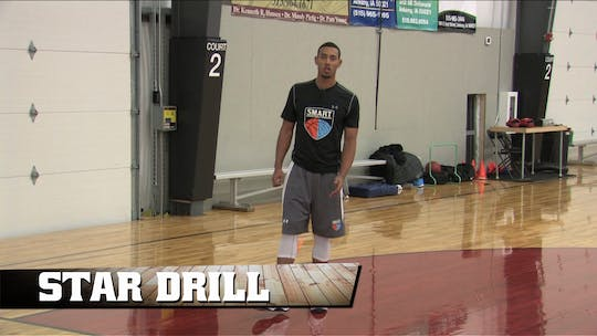 Star Drill by Smart Basketball Training, powered by Intelivideo