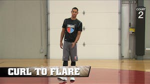 Curl to Flare by Smart Basketball Training