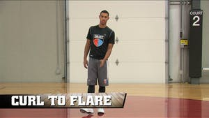 Instant Access to Curl to Flare by Smart Basketball Training, powered by Intelivideo