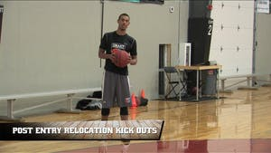Post Entry Relocation Kick Outs by Smart Basketball Training