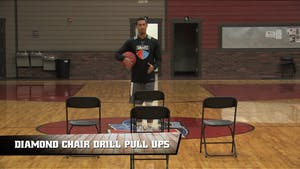 Instant Access to Diamond Chair Drill Pull Ups by Smart Basketball Training, powered by Intelivideo