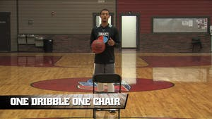 Instant Access to One Dribble One Chair by Smart Basketball Training, powered by Intelivideo