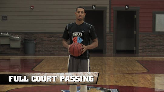 Full Court Lead Passes by Smart Basketball Training
