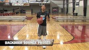 Instant Access to Back Door Bounce Passes by Smart Basketball Training, powered by Intelivideo
