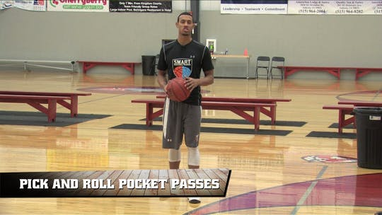 Pick and Roll Pocket Passes by Smart Basketball Training