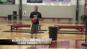 Reject Pick and Roll Flare Passes by Smart Basketball Training