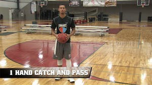 Instant Access to 1 Hand Catch and Pass by Smart Basketball Training, powered by Intelivideo