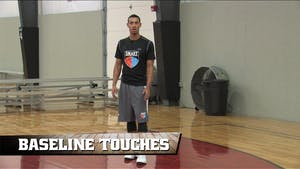 Baseline Touches by Smart Basketball Training