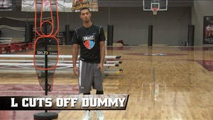Instant Access to L Cut Off Dummy by Smart Basketball Training, powered by Intelivideo