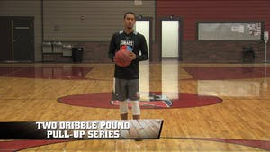 Instant Access to 2 Dribble Pound Pull Ups by Smart Basketball Training, powered by Intelivideo