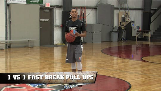 1 vs 1 Fast Break Pull Ups by Smart Basketball Training