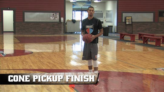 Cone Pickup Finish by Smart Basketball Training