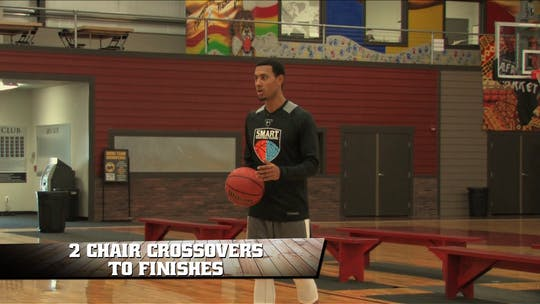 2 Chair Crossovers to Finishes by Smart Basketball Training
