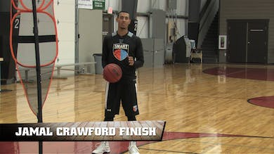 Jamal Crawford Finish by Smart Basketball Training