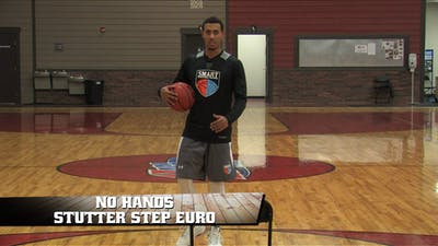 Instant Access to No Hands Stutter Step Euro by Smart Basketball Training, powered by Intelivideo
