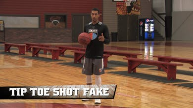 Tip Toe Shot Fake by Smart Basketball Training