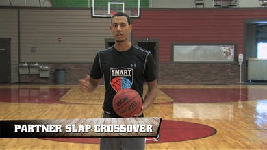 Partner Slap Crossovers by Smart Basketball Training