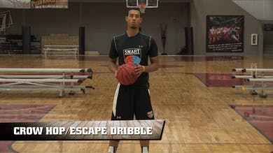 Crow Hop/Escape Dribble Drill by Smart Basketball Training