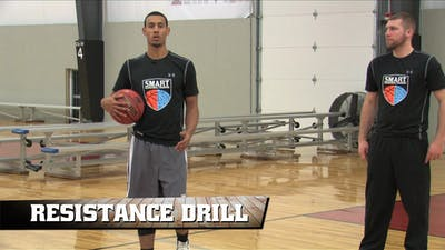 Instant Access to Resistance Drill by Smart Basketball Training, powered by Intelivideo