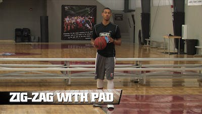 Zig-Zag with Pad by Smart Basketball Training