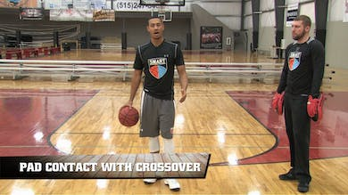 Pad Contact with Crossover by Smart Basketball Training