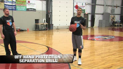Instant Access to Off Hand Protection/Separation Drill by Smart Basketball Training, powered by Intelivideo