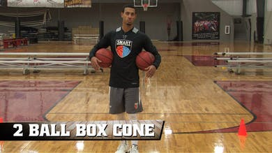 2 Ball Box Cone Drill by Smart Basketball Training