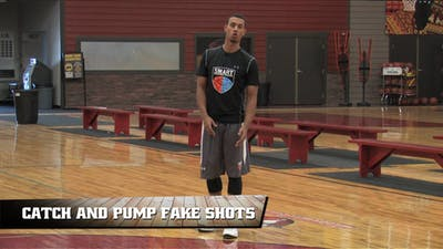 Instant Access to Catch and Pump Fake Shots by Smart Basketball Training, powered by Intelivideo
