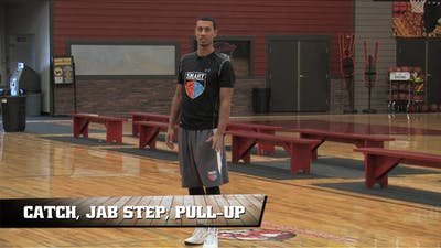 Instant Access to Catch, Jab Step, Pull Up by Smart Basketball Training, powered by Intelivideo