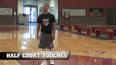 Half Court Touches by Smart Basketball Training